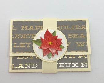 Christmas Gift Card Holder, Gift Card Holder, Christmas Gifts, Card Holder, Money Holder, Christmas Card Holder, Holiday Card Holder, Gift