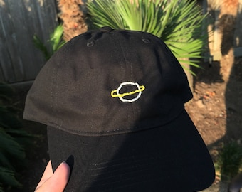 Planet Embroidered Baseball Cap