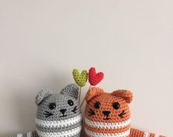 Love Cats Pdf Crochet Pattern - Crochet House