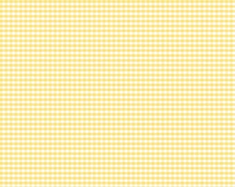 "1 Yard -1/8"" Gingham by Riley Blake Designs- 440-50 Yellow"