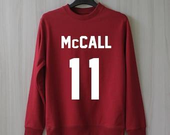 Scott Mccall Teen Wolf Sweatshirt Sweater Jumper Pullover Shirt – Size XS S M L XL