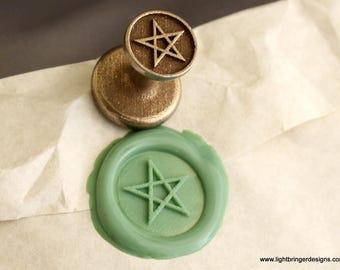 Pentagram Wax Seal - Yule gift