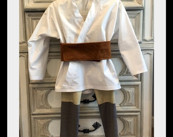 Luke Skywalker Inspired Costume, Jedi Costume, Star Wars Inspired Costume, Karate Costume, Gi