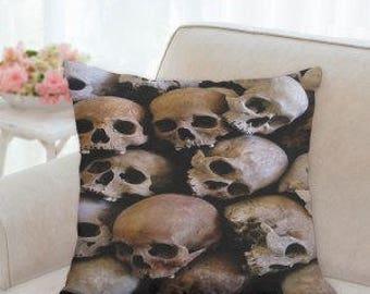 Skulls Halloween Pillow