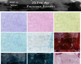 Plastered Photoshop Textures Overlays Collection