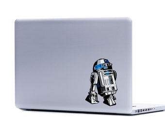 Star Wars R2-D2 TOO Laptop Decal | iphone decal droids laptop macbook decal stickers for laptop car window sticker yeti geekery tablet