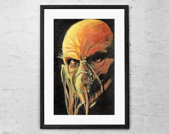 Doctor Satan - Painting - House of 1000 Corpses - The Devils Rejects - Rob Zombie - Dr Satan - Horror Movie - Movie Poster - Horror Decor