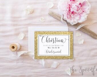 Printable Wedding Party Proposal, Bridal Proposal, Proposal Card, Will You Be My Bridesmaid Card, Bridesmaid Card, Wedding Party Proposal