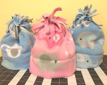 Baby Elephant Fleece Hat