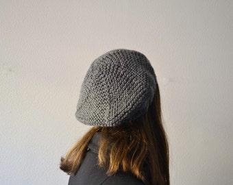 Beret Women, Tam knit, knit beret, Tam women, Hat winter, Hat knit, Winter accessories for woman, Handmade beret