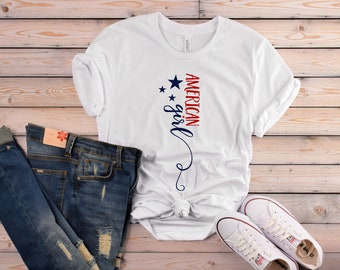 American Girl T-Shirt for Dog Moms | Perfect for Spring and Summer!