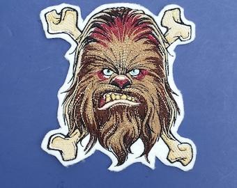 Chewbacca patch, star wars patch