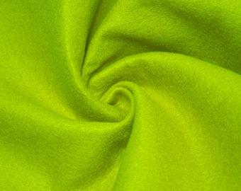 Lime Acrylic Craft Felt Fabric By the Yard Style 3009