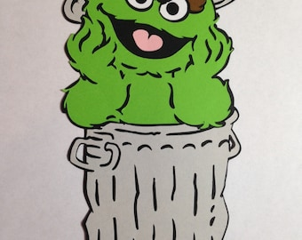 Sesame Street's Oscar the Grouch Die Cut