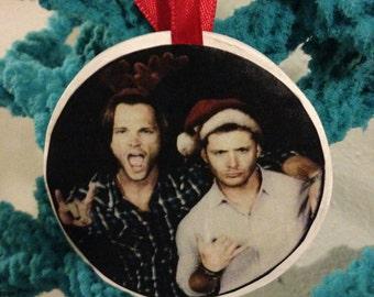 Sam &  Dean Winchester Supernatural Ornament