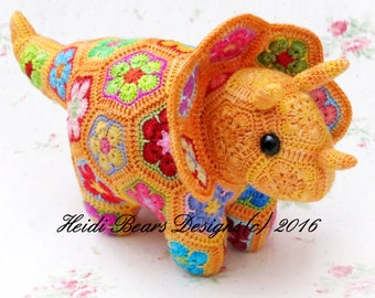 Plod the African Flower Triceratops