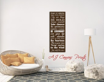 House Rules Sign, Subway Art Print, Signs with Family Rules, Playroom Rules, Typography Canvas Print, house rules sign, family room decor