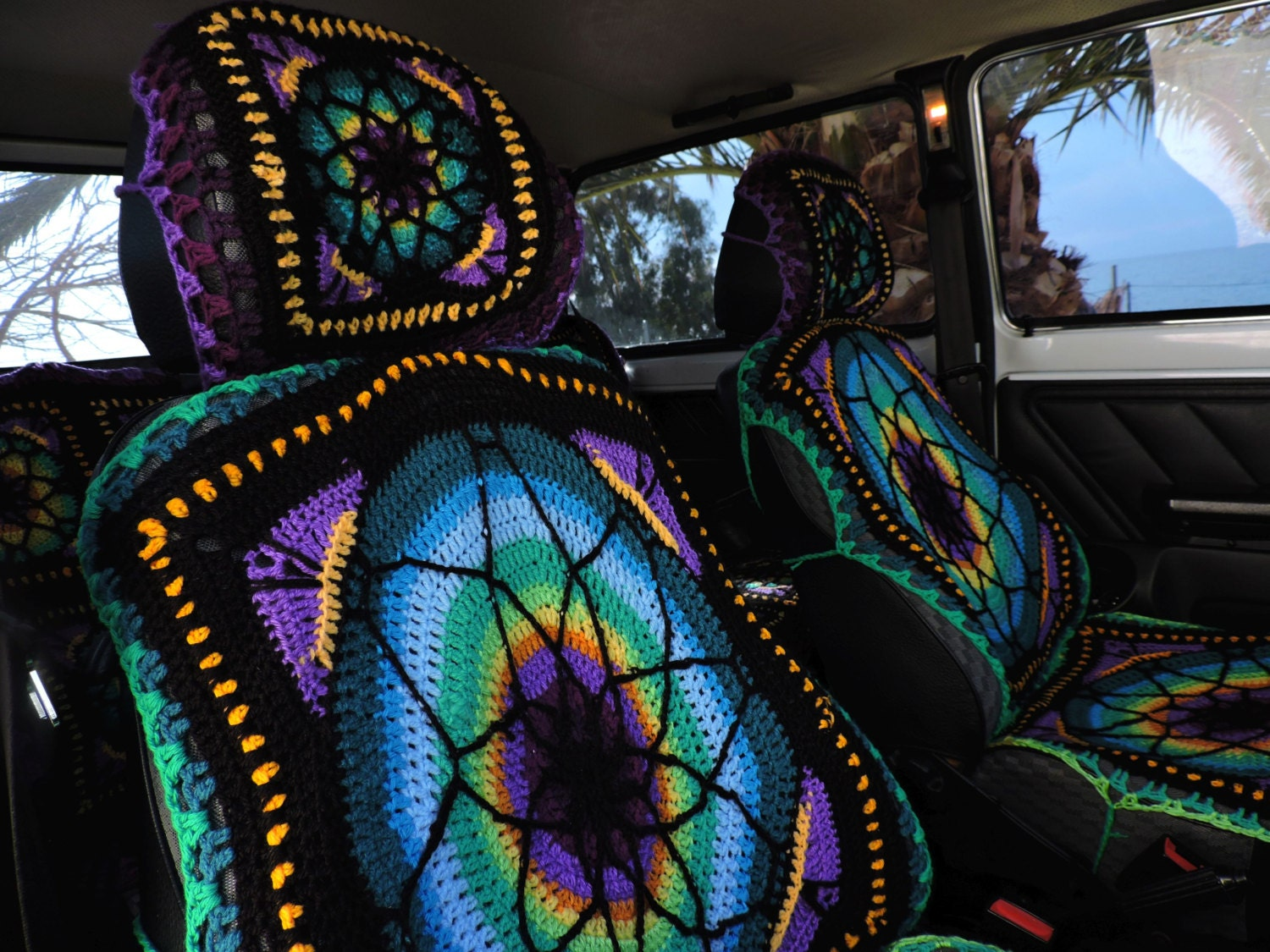 Crochet car seat covers vibrant crochet car seat covers dt1010fo