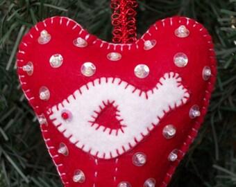 Felt Ornaments, Bowl Fillers, Gift Decoration, Door Hangers