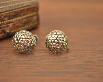 Vintage Marcasite Earrings in Original Box