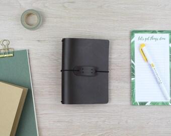 """Traveler's Notebook """"dark brown""""-Field notes"""