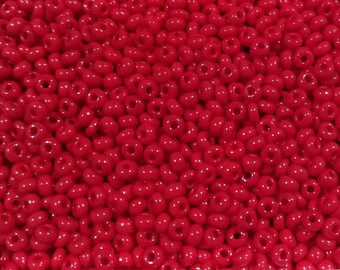 20g Red seed beads (bag with 20g), red tone, tiny beads, small beads,jewelry supplies, 2mm beads,glass beads (GB17)
