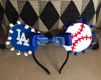 Dodgers Team mouse ears
