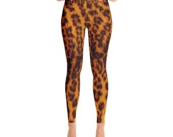 Animal Print Yoga Leggings/Pants