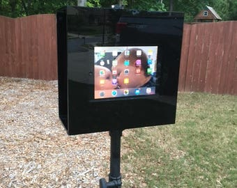 Luft Booth GLAZE Portable iPad Photo booth with Stand for Weddings and Parties- iPad Photo Booth