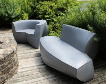 Frank Gehry Easy chair and sofa produced by Heller