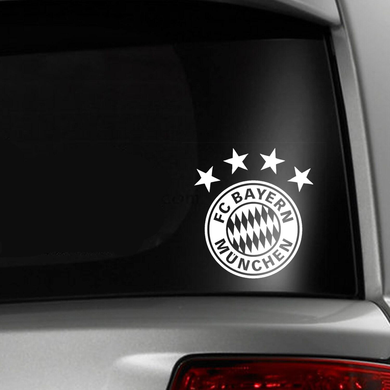bayern munich soccer fc car window decal