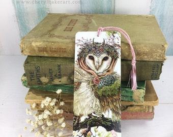 Owl Bookmarks - Bookmarker - Bookmarking - Bookmarks for Books - Book Mark - Reading Bookmark - Book Mark Bookmark - Book Art - Teachers