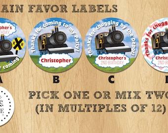 Train - Favor Labels