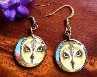 Pueo or Native Hawaiian Owl Necklace