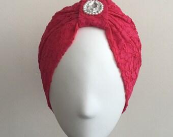 GOHARA Jewel Lace Turban
