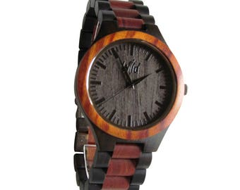 FREE Engraving, Wooden Watch, mens Watch, Gifts for him, boyfriend Gift, Anniversary Gift, Custom engraving, Personalized wood Watch, TOP700