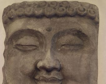 Face of the Buddha Concrete Hanging