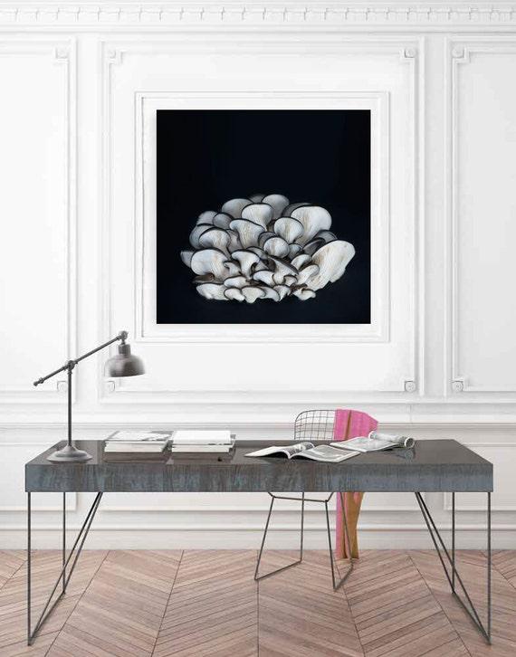 Large Minimalist Art Kitchen Art Minimalist Food Art Black