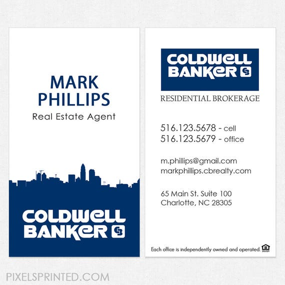 No photo coldwell banker real estate deluxe business cards reheart Choice Image