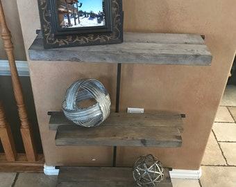 Handmade shelf's