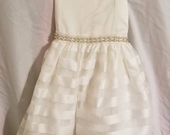 Flower girl dress size 4