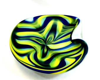 Vintage Art Deco Bowl Signed by Artist
