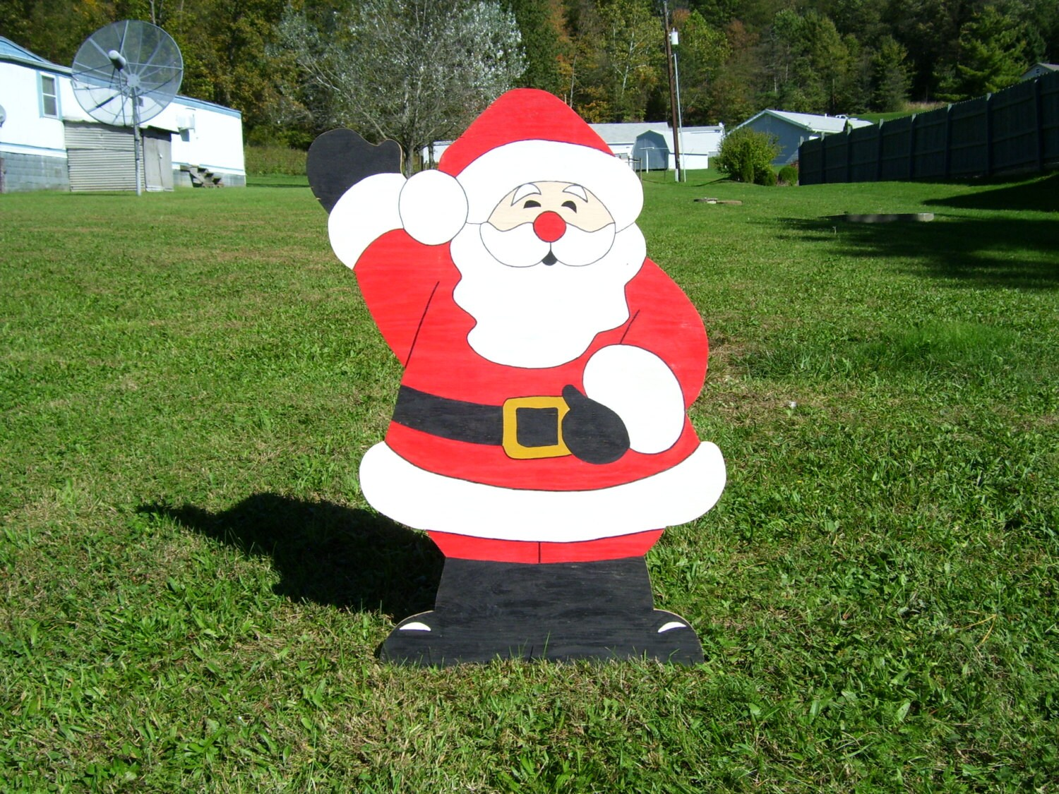 outdoor attractive santa decoration decorations home mailbox designing christmas claus decoratives cover decor