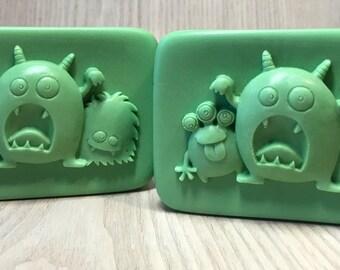 Monster Soap / Glycerin Soap / Kids Soap