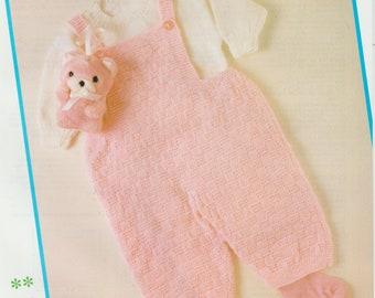 Baby Set Knitting Pattern .PDF File (D18)