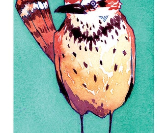 State Birds - Cactus Wren