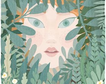 The Secret Garden Lithograph Art Print