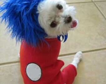 Dog Costume, Halloween Costume for Small dog, Pet Costume, Animal Costume, Halloween party Costume, Troll, Personalized