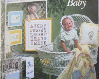 Cross Stitch for your Baby how to book. used but in good condition