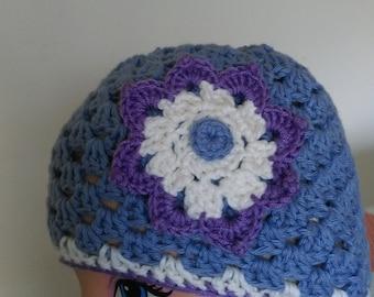 Crochet children hat